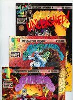 Scavengers #3, #4, and #5 Triumphant Comics Lot of 3 Books