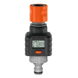 GARDENA Water Smart Flow Meter, Water Consumption Calculator Made in Germany