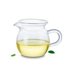1x 265ml Heat Resistant Glass Clear Tea Pitcher Fair mug Cha hai Gongdao Teacup