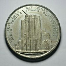 More details for germany, cologne, recommencement of building of the cathedral 1842, medal
