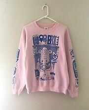 MILKBBI Ultimate Sweatshirt/Sweater (Pink) ~ Size L ~ Cute Kawaii