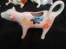 New listing Pioneer Woman Flea Market Pattern Stoneware Cow Creamer
