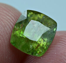2.45 Ct Ultra Rarest, Transparent Green Color Axinite Cut Gemstone @Afghanistan