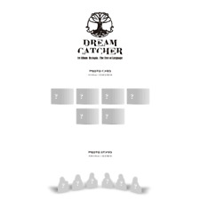 Dreamcatcher 1st Album Dystopia : The Tree Of Language PhotoCard & Standee