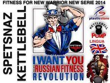 Kettlebell Spetsnaz DVD Fitness Dvd Bodybuilding Mma Kettlebell