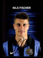 Nils Fischer Autogrammkarte 1 FC Saarbrücken 2013-14 Original Signiert+A 158919