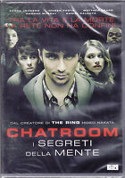 Dvd **CHATROOM - I SEGRETI DELLA MENTE** dal creatore di The Ring nuovo 2011