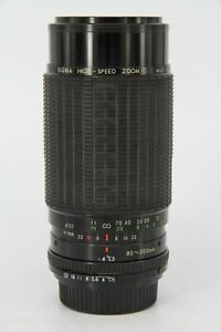 SIGMA 80-200/3.5-4   Pentax K    Professionally Tested - Suitable for parts