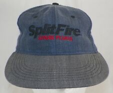SPLIT FIRE SPARK PLUGS ADJUSTABLE SNAPBACK BASEBALL HAT CAP B4