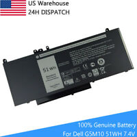 100% Genuine G5M10 Battery for Dell Latitude E5450 E5470 E5550 E5570 0WYJC2 8V5G