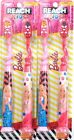 2 Packages Reach Kids Barbie 2 Ct Less Mess Suction Cup Soft Toothbrushes