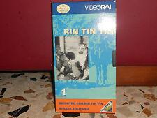 RIN TIN TIN - INCONTRO CON RIN TIN TIN - STRADA SOLITARIA - VHS VIDEORAI 1