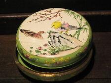 Cloisonne enamel Japan powder box