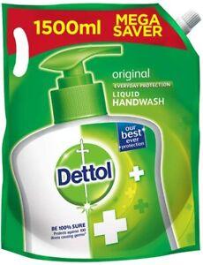 Dettol Liquid Hand wash Refill Original -150 ml X Pack of 4