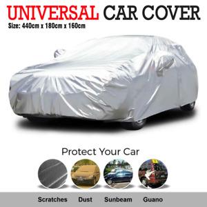 Universal Size Car Cover Waterproof Rain/UV/Dust Resistant Weather Proof L AU