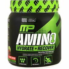 MusclePharm | AMINO 1 - Hydrate + Recover | Cherry Limeade, 432 g, 30 servings