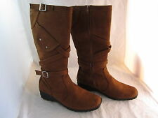 Womens LUV America Boots Shoes Size 10M Brown Suede