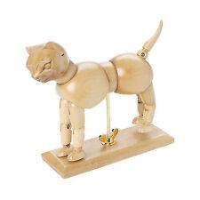 "US Art Supply® Artist Drawing 7"" Cat Manikin Articulated Wooden Mannequin Figure"