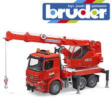 Bruder MB AROCS Fire Engine Crane Kids Children Emergency Service Toy Scale 1:16