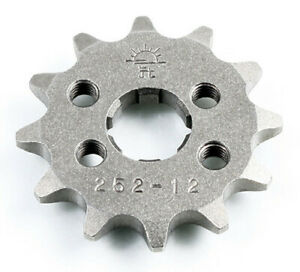 JT 12 Tooth Steel Front Sprocket 420 Pitch JTF252.12
