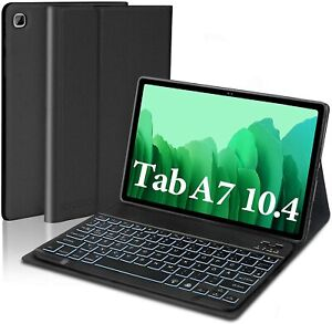 "Für Samsung Galaxy Tab A7 10.4"" 2020 T500/505/507 Bluetooth Tastatur Hülle Cover"