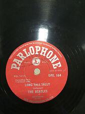 THE BEATLES RARE 78 RPM INDIA long tall sally DEMO PROMO SAMPLE PARLOPHONE VG++