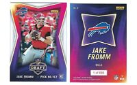 2020 Panini Instant NFL Draft Night RC JAKE FROMM ROOKIE Card Bills SP /686