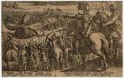 Antique Master Print-HUNT-SERPENT-MARCUS ATILIUS REGULUS-Tempesta-1602