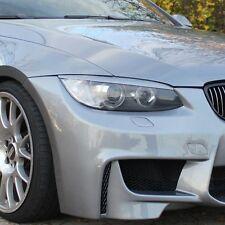 = BMW 3 E92 / E93 COUPE , CONVERTIBLE Headlight Brows Eyebrows Eyelids = ABS =