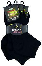 3-15 Paar Bambus Kurzschaftsocken Kurzstrumpf Quartersocken für Damen und Herren