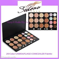 NEW Sedona Lace 20-Color CAMOUFLAGE CONCEALER Palette FREE SHIPPING Face Makeup