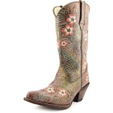 High Heel (3-4.5 in.) Casual Floral Boots for Women