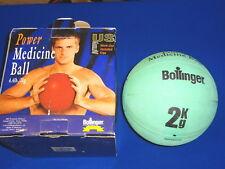 Bollinger 2 kg 4.4 lb Power Medicine Ball Weighted Fitness Ball Green