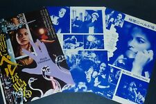 OLIVIA HUSSEY Black Christmas 1975 Japan MOVIE AD & PICTURE CLIPPINGS nf/o