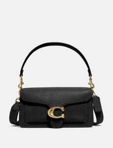 100% authentic BNWT COACH TABBY LEATHER BAG - BLACK RRP£395