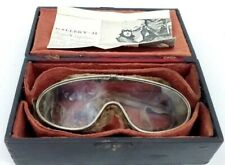 New ListingRare Ww1 Goggles of Famous Pilot Sgt. Bigelow