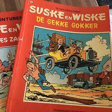 Nr 135. Suske en Wiske  De Gekke Gokker