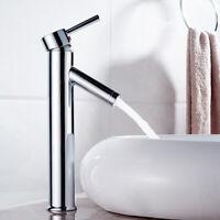 Wasserhahn Waschtisch Armatur Mischbatterie Waschbecken Einhebelmischer Chrom DE