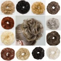 LARGE KOKO HAIR SCRUNCHIE WRAP FOR BUN PONYTAIL UPDO NATURAL LOOKING HAIRPIECE