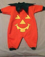 Teddy Bears Infant Pumpkin Halloween Costume Size Small