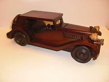 Oldtimer  - Holzauto - sehr selten -