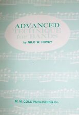 """Advanced Technique For Bands"" Music Book For Percussion-Brand New On Sale-Rare"