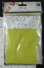 "Studio G Green Foldover Cards w Envelopes 6.25"" x 4"", Pk of 12"