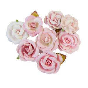 Prima Magic Love Collection - Flower Embellishments - Pink Dreams 652746