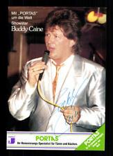 Buddy Caine Autogrammkarte Original Signiert ## BC G 19425