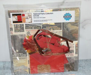 Special Edition Club Scrap NATIONAL PARKS 8 12x12 Scrapbook Kit - NEW