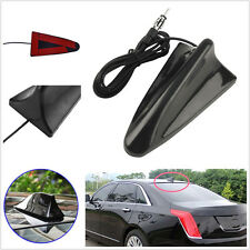Black ABS Material Autos Truck Top Roof Shark Fin AM/FM Aerial Antenna Universal