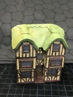 15 mm European Tudor style Thatch Roof Manor Unpainted building miniature