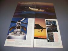 VINTAGE..PILATUS PC-12..HISTORY/DETAILS/SPECS/COST..RARE! (464H)