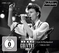 BIG COUNTRY - LIVE AT ROCKPALAST (3CD+2DVD) +2DVD 4 CD+DVD NEU